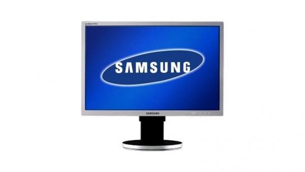 """Samsung 225BW Monitor 22"""" TN TFT 16:10 PIVOT VGA DVI 1680x1050"""