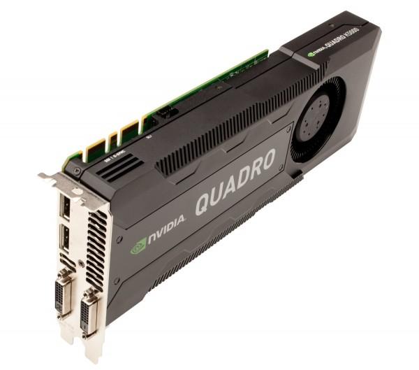 Nvidia QUADRO K5000 PCI-E 4GB GDDR5 DVI DP CAD Visualisierung Grafikkarte