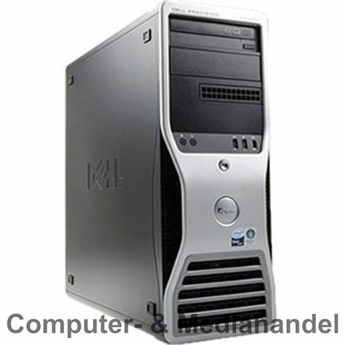 Dell Precision T3400 Workstation Intel Core 2 Quad Q9550 4x 2,83GHz 4GB QFX1700 RW Ohne HDD