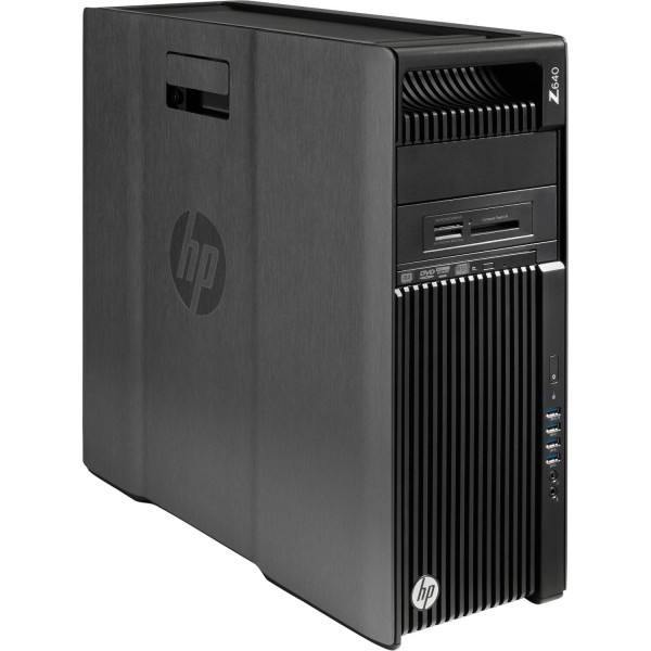 HP Z640 Workstation Intel Xeon E5-2630v3 8x 2,40GHz 300GB SAS 8GB Nvidia Quadro K4200 W10