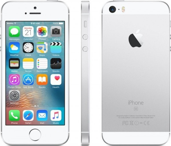 "Apple iPhone SE 128GB Silber 4"" A-Ware Ohne Simlock Smartphone Handy"