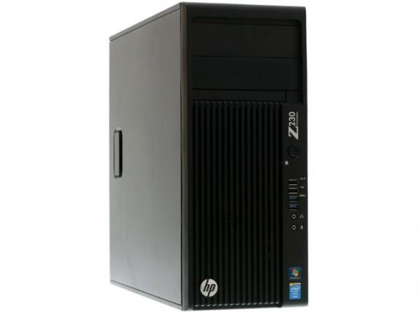 HP Z230 Workstation Intel Core i7-4790 4x 3,60GHz 32GB 1000GB Quadro K4000 DVD Win10