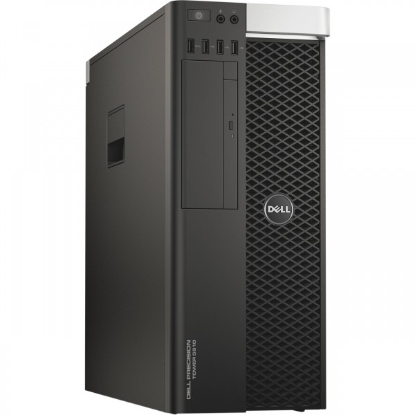 Dell Precision T5810 Intel Xeon E5-1620v3 4x3,50GHz 256GB SSD 16GB Quadro K2200 RW W10