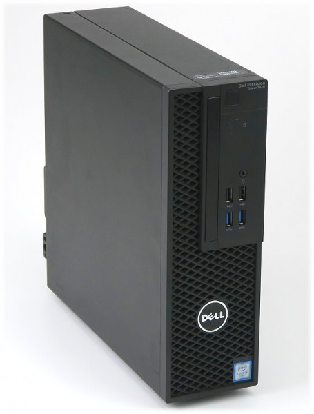 Dell Precision Mini Tower 3420 Intel Xeon E3-1245v5 4x 3,50GHz 32GB Intel HD P530 W10 Ohne HDD