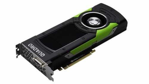 Nvidia QUADRO P6000 Grafikkarte 24GB GDDR5X PCIe 3.0 x16 4x Displayport 1xDVI