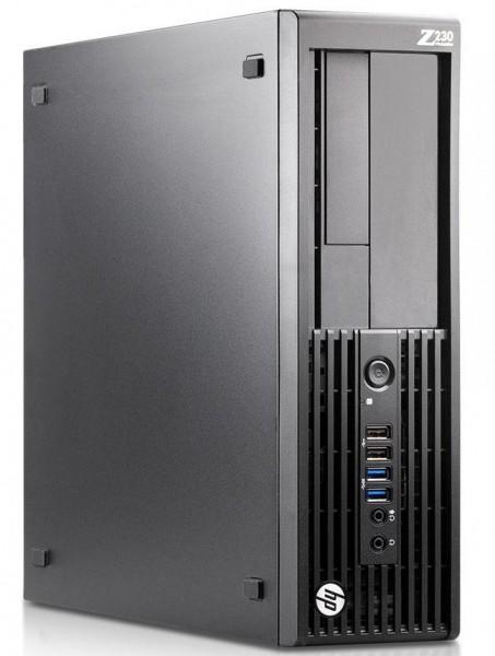 HP Z230 SFF Workstation Intel Xeon E3-1245 V3 4x 3,40GHz 8GB 500GB Intel HD Win10