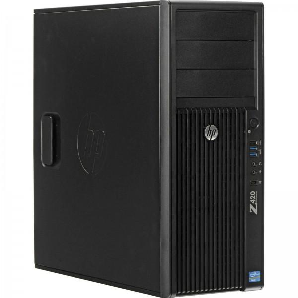 HP Z420 Workstation Intel Xeon E5-1620 4x 3,60GHz 16GB 500GB Quadro NVS 315 W10