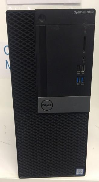 Dell Optiplex 7040 Mini Tower PC Intel Core i5-6600 4x3,30GHz 500GB 8GB DDR4 Geforce GTX 745