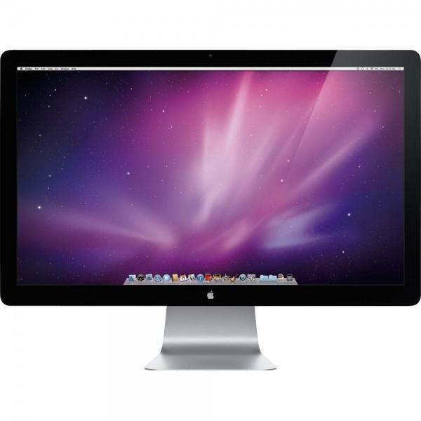 "Apple Cinema Display LED 27"" Inch HD Display 2560 x 1440 Webcam A1316 Monitor"
