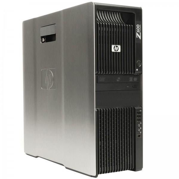 HP Z600 Workstation 2x Intel Xeon E5506 4x 2,13GHz 16GB 500GBQuadro FX3800 DVD W10
