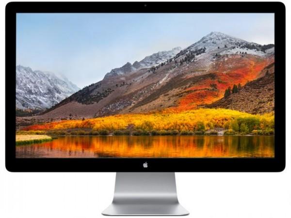 "Apple Thunderbolt LED Cinema Display 27"" Inch HD 2560 x 1440 Webcam A1407 Monitor"