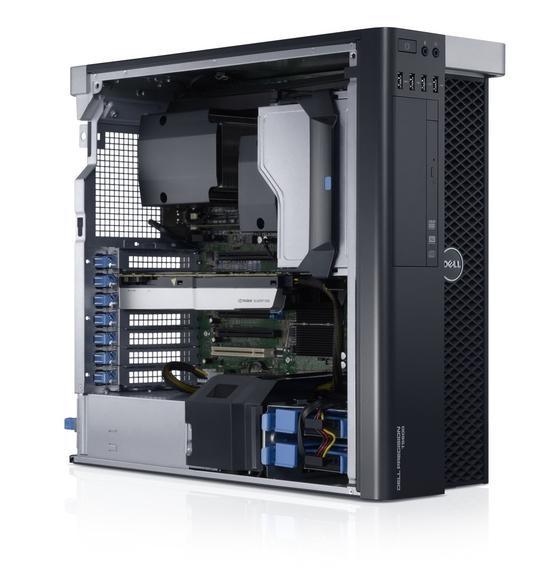 Dell Precision T5600 Workstation Intel Xeon E5-2667 6x2,90GHz 1TB 16GB Nvidia Quadro 4000 Rom W10