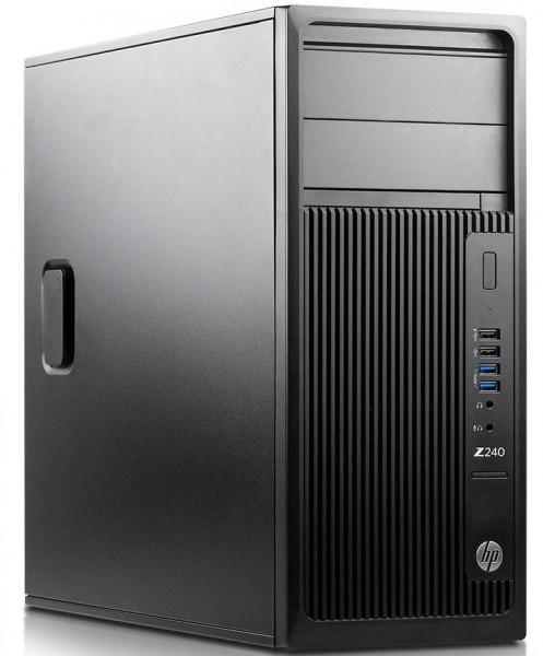HP Z240 Workstation Intel Xeon E3-1270 v6 4x3,80GHz 32GB 512GB SSD NVS 315 W10