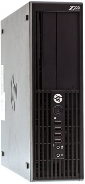 HP Z220 SFF Workstation Intel Xeon E3-1240 V2 4x 3,40GHz 8GB 500GB SATA Radeon HD 8490 W10