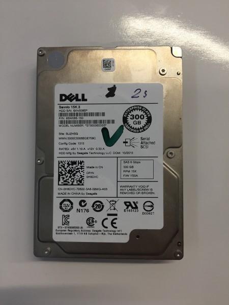 "Dell Savvio 15K.3 HDD 300GB 2,5"" SAS 6 Gbps Festplatte 64MB Cache ST9300653SS"