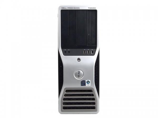 Dell Precision T5500 Workstation Xeon X5690 6x3,46GHz 12GB 300GB SAS FX 800 RW W10