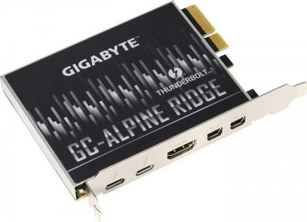 GIGABYTE GC-ALPINE RIDGE Rev 2.0 USB-C Thunderbolt3 Certified PCI-E Expansion card
